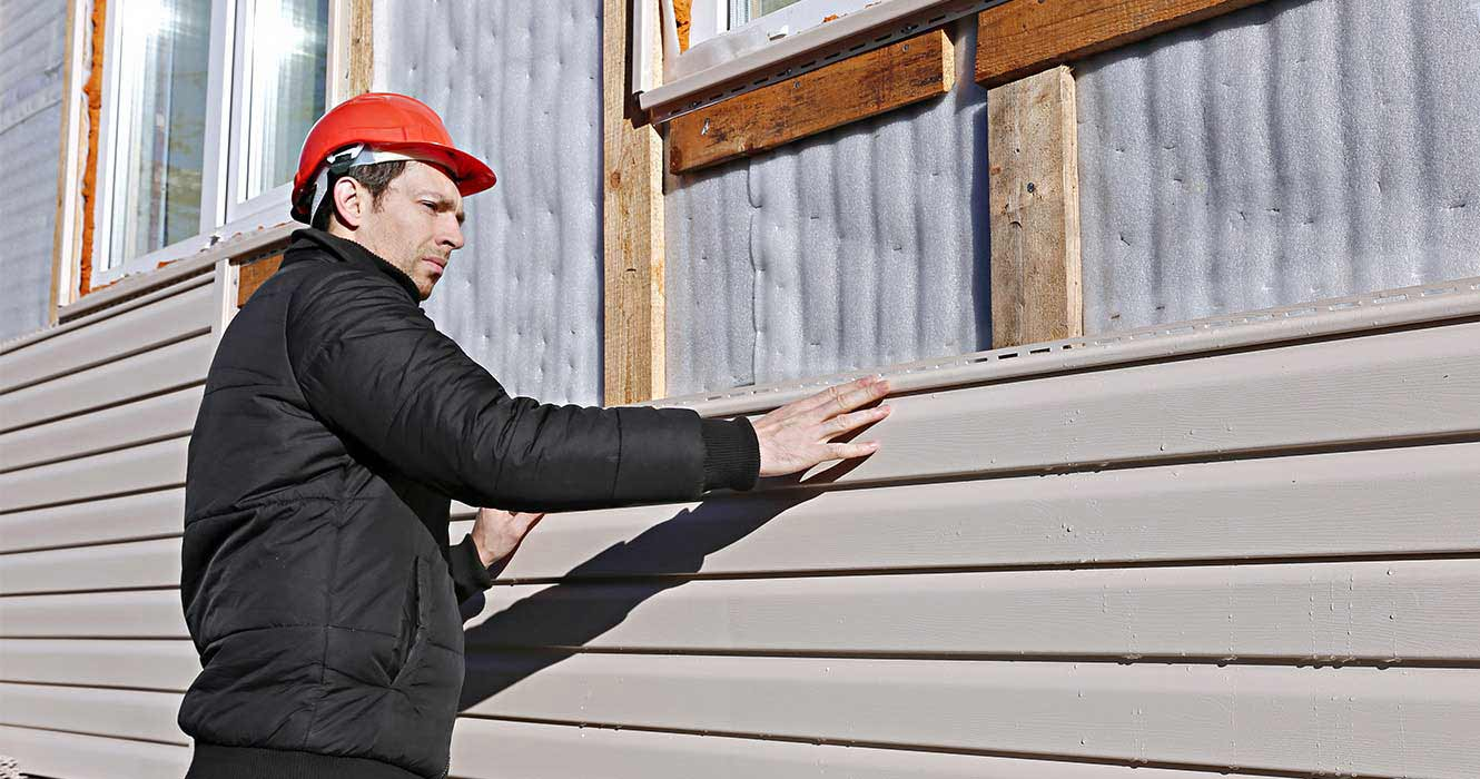 siding installation by experts