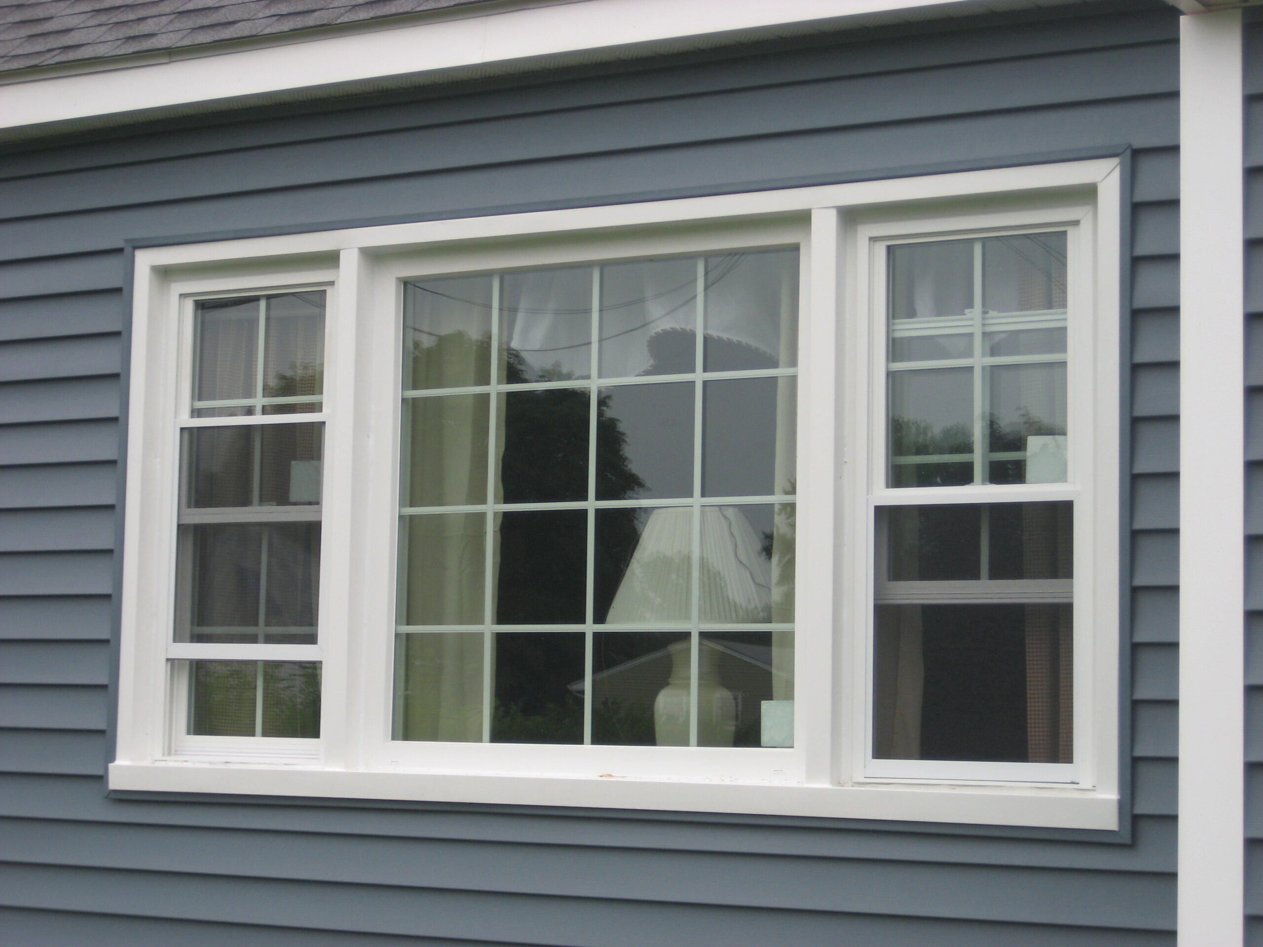 vinyl window installation