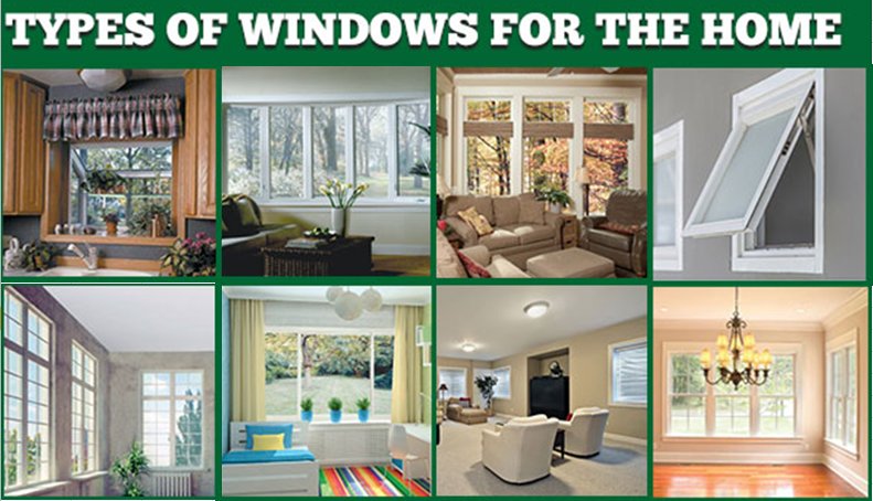 Types of Windows for Home